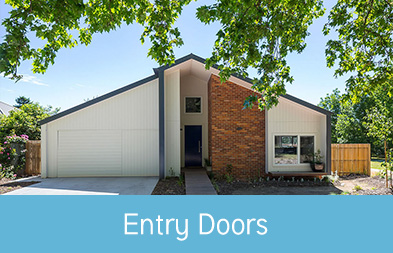 This stunning family home features custom-made Plustec entry doors which provide not only street appeal but also security, efficiency and style.