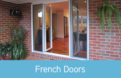 Open up your living space with Plustec's gorgeous French doors, custom manufactured to suit your specific requirements, and delivered and installed Australia-wide.